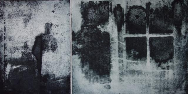 Trimming, Nostalgia II, aquatinte, 50 x 65 cm